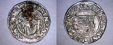 Buy 1546-KB Hungary 1 Denar World Silver Coin - Madonna with Child - Ferdinand I