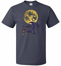 Buy Hocus Pocus Halloween Unisex T-Shirt Pop Culture Graphic Tee (XL/J Navy) Humor Funny