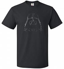 Buy Darth Smoke Unisex T-Shirt Pop Culture Graphic Tee (L/Black) Humor Funny Nerdy Geeky