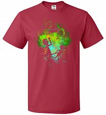 Buy Rick Morty Art Unisex T-Shirt Pop Culture Graphic Tee (5XL/True Red) Humor Funny Nerd