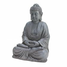 Buy *16164U - Meditating Buddha Stone Look Figurine Statue
