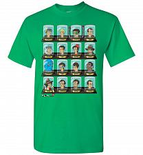 Buy Doctorama Unisex T-Shirt Pop Culture Graphic Tee (S/Irish Green) Humor Funny Nerdy Ge
