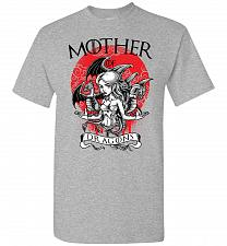 Buy Mother of Dragons Unisex T-Shirt Pop Culture Graphic Tee (S/Sports Grey) Humor Funny