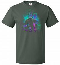 Buy DVA Art Unisex T-Shirt Pop Culture Graphic Tee (S/Forest Green) Humor Funny Nerdy Gee