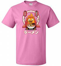 Buy Fire Demon Ramen Unisex T-Shirts Pop Culture Graphic Tee (3XL/Azalea) Humor Funny Ner