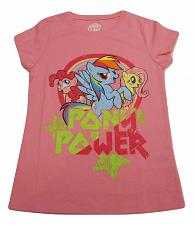 Buy Graphic T- Shirt MY LITTLE PONY Girls PINK Size L 10-12 Short Sleeves