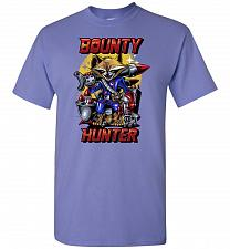 Buy Bounty Hunter Rocket Raccoon Unisex T-Shirt Pop Culture Graphic Tee (M/Violet) Humor