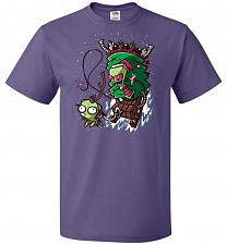 Buy Zime That Stole Christmas Unisex T-Shirt Pop Culture Graphic Tee (S/Purple) Humor Fun