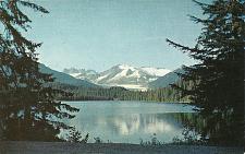 Buy Jeaneau Ice Cap Postcard Mendenhall Glacier Auke Lake Alaska
