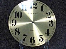 Buy Vintage Clock Face Merecedes 8.25 inch Mantle Grandfather Wall Repair Parts