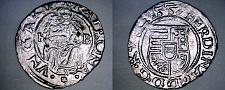 Buy 1557-KB Hungary 1 Denar World Silver Coin - Madonna with Child - Ferdinand I