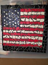 """Buy ceramic flag mosaic 12"""" x 12"""""""