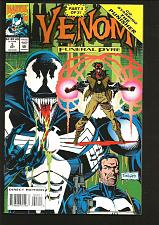 Buy VENOM #3 NM- Funeral Pyre PUNISHER 1993 Marvel Comics Lyle Potts Rubinstein