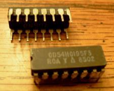 Buy Lot of 2: RCA CD54HC195F3