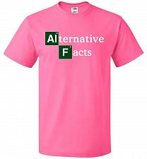 Buy Alternative Chemical Symbol Unisex T-Shirt Pop Culture Graphic Tee (2XL/Neon Pink) Hu
