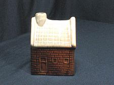 Buy Porcelain House Smoker Figural Ashtray Snuffer Vintage Japan Cabin Cottage