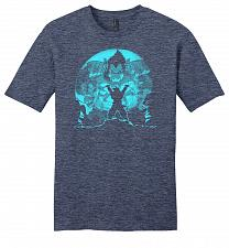 Buy Saiyan Sized Secret Youth Unisex T-Shirt Pop Culture Graphic Tee (XL/Heathered Navy)