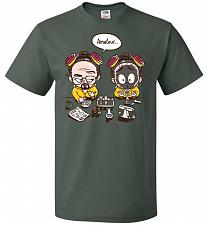 Buy My First Science Kit Unisex T-Shirt Pop Culture Graphic Tee (5XL/Forest Green) Humor