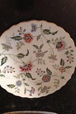 """Buy Andrea By Sadek Beautiful Floral Plates Approximately 7.5"""" Set Of 4"""