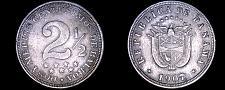 Buy 1907 Panamanian (2.5) 2-1/2 Centesimos World Coin - Panama