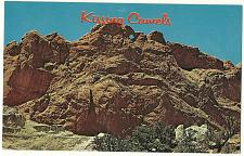 Buy Kissing Camels Garden of the Gods Pikes Peak Colorado Postcard
