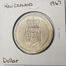 Buy 1967 New Zealand 1 Dollar World Coin - Decimalization Commemorative