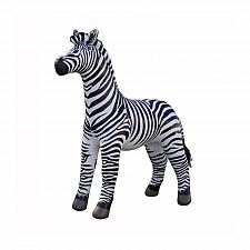 Buy Inflatable 88in H Life Like Zebra zoo animal jungle party toy museum