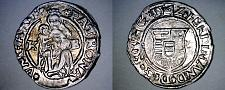 Buy 154Z-KB Hungary 1 Denar World Silver Coin - Madonna with Child - Ferdinand I
