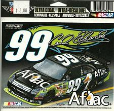 Buy NASCAR Carl Edwards 99 Sticker Ultra Decal Removable Win Craft AFLAC Racing
