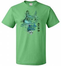 Buy Watercolor Totoro Unisex T-Shirt Pop Culture Graphic Tee (4XL/Kelly) Humor Funny Nerd