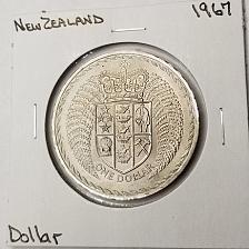 Buy 1967 New Zealand 1 Dollar World Coin - Decimalization Commemorative