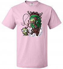 Buy Zime That Stole Christmas Unisex T-Shirt Pop Culture Graphic Tee (4XL/Classic Pink) H