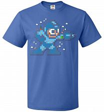 Buy Mega Maker Unisex T-Shirt Pop Culture Graphic Tee (M/Royal) Humor Funny Nerdy Geeky S