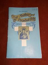 Buy Our Mother of Perpetual Help Novena Hymns And Prayers 1936 White Cross Edition