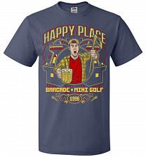 Buy Gilmore's Happy Place Adult Unisex T-Shirt Pop Culture Graphic Tee (5XL/Denim) Humor