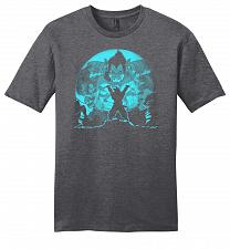 Buy Saiyan Sized Secret Youth Unisex T-Shirt Pop Culture Graphic Tee (XL/Heathered Charco