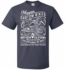 Buy Mayan Custom Bikes Sons Of Anarchy Adult Unisex T-Shirt Pop Culture Graphic Tee (L/J