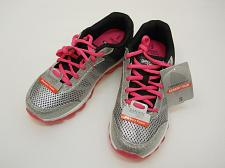 Buy DANSKIN NOW Girls Size 5 Black Pink Glitter Athletic Bubble Shoe Lace Up