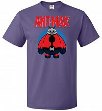 Buy Ant-Max Unisex T-Shirt Pop Culture Graphic Tee (4XL/Purple) Humor Funny Nerdy Geeky S