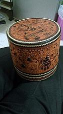 Buy ANTIQUE BURMESE CANISTER-CONTAINER STORAGE: 1890s