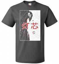 Buy John Wick Scarface Mashup Adult Unisex T-Shirt Pop Culture Graphic Tee (2XL/Charcoal