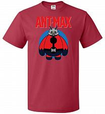 Buy Ant-Max Unisex T-Shirt Pop Culture Graphic Tee (2XL/True Red) Humor Funny Nerdy Geeky