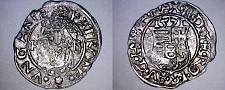 Buy 1571-KB Hungary 1 Denar World Silver Coin - Madonna with Child - Maximilian II