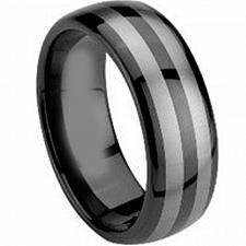 Buy coi Jewelry Tungsten Carbide Dome Wedding Band Ring