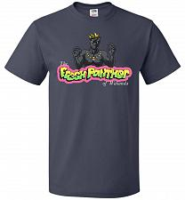 Buy Fresh Panther Unisex T-Shirt Pop Culture Graphic Tee (6XL/J Navy) Humor Funny Nerdy G