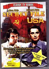 Buy Secret File USA 4 Classic Episodes NEW DVD