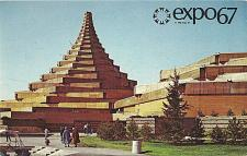 Buy EXPO 67 Man in the Community Man and his Health Complex Postcard