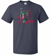 Buy Phantom Of The Empire Fett Unisex T-Shirt Pop Culture Graphic Tee (3XL/J Navy) Humor