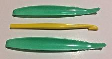 Buy 3 Vintage Tupperware Gadgets Lettuce Corer ~ Citrus Peeler ~ NEW Old Stock