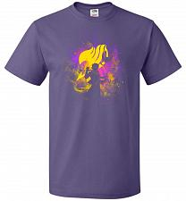 Buy Dragneel Art Unisex T-Shirt Pop Culture Graphic Tee (XL/Purple) Humor Funny Nerdy Gee